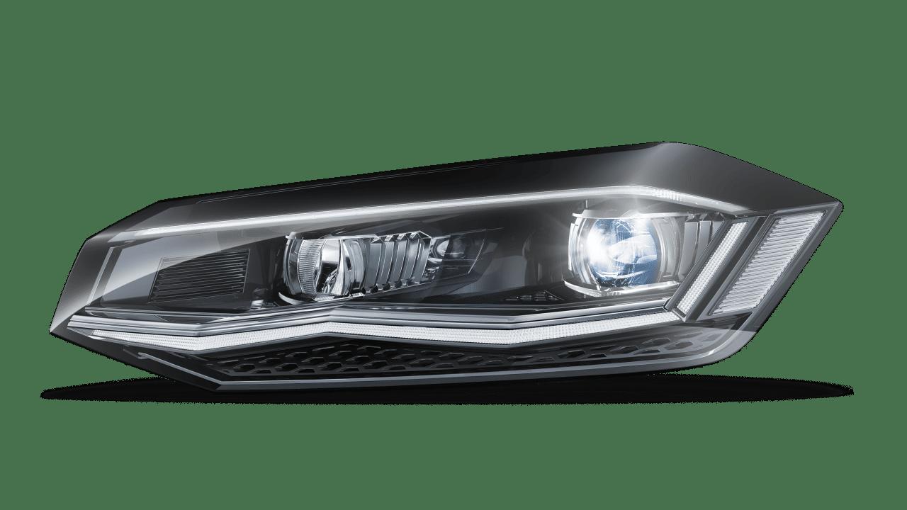 VW. Der neue Polo. Beeindruckende Leuchten.