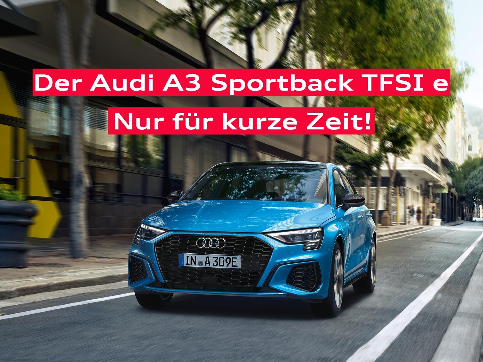 Audi A3 Sportback TFSI e Angebot